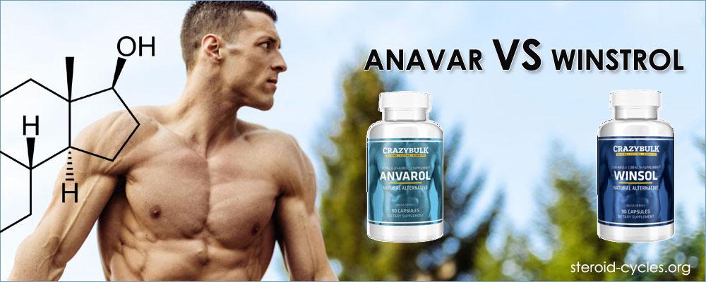 Anavar vs Winstrol steroids